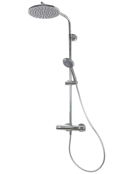 BREUER Duschsystem »Aquamaxx 310«, Höhe: 159 cm, chromfarben