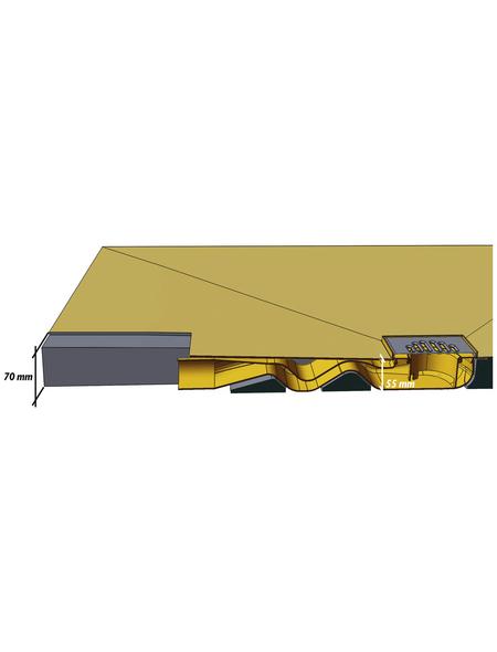 OTTOFOND Duschsystem »Bed«, Durchmesser: 55 mm, Polystyrol (EPS)