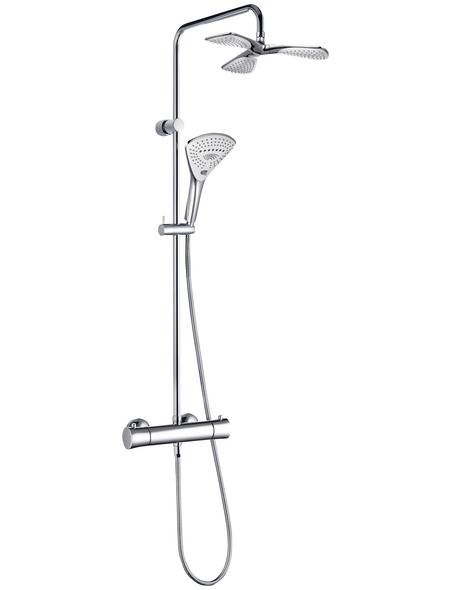 KLUDI Duschsystem, Breite: 400 mm, Kunststoff/Metall