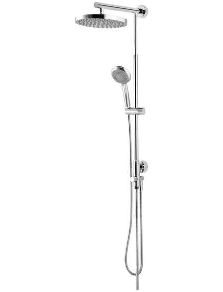 SCHULTE Duschsystem »DuschMaster Rain Classic«,  chromfarben