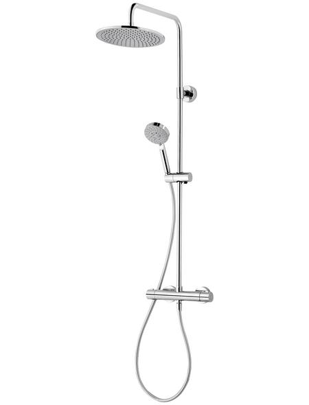 SCHULTE Duschsystem »DuschMaster Rain III Modern plus«, chromfarben