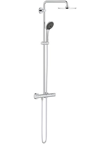 GROHE Duschsystem »Vitalio Joy System XXL 210«, Höhe: 113,2 cm, chromfarben