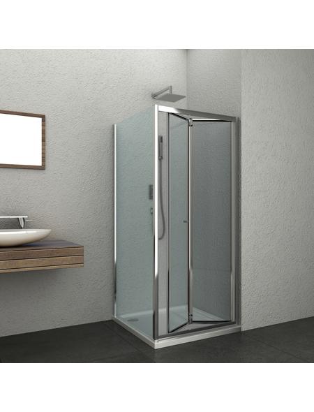 SANOTECHNIK Duschtrennwand »Elite«, B x H: 78 x 195 cm, Sicherheitsglas