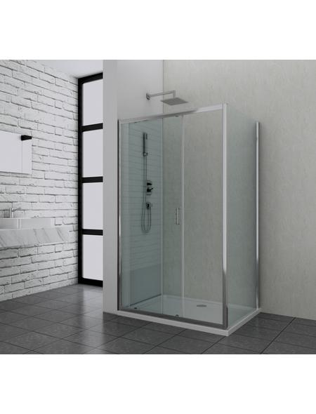 SANOTECHNIK Duschtrennwand »Elite«, B x H: 88 x 195 cm, Sicherheitsglas