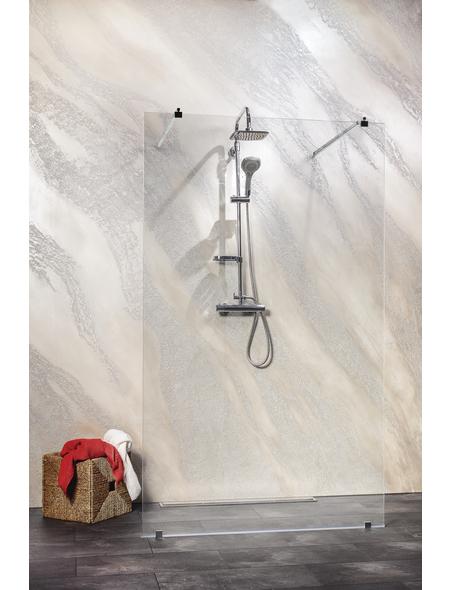 SANOTECHNIK Duschtrennwand »Freedom 1«, B x H: 127 x 195 cm, Sicherheitsglas