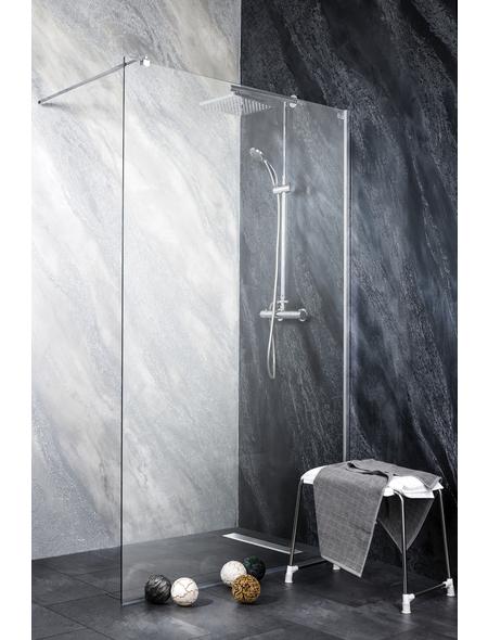 SANOTECHNIK Duschtrennwand »Freedom«, B x H: 98 x 195 cm, Sicherheitsglas