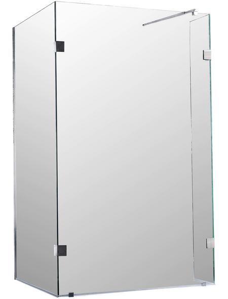 SANOTECHNIK Duschtrennwand »Wide 1«, B x H: 118 x 195 cm, Sicherheitsglas