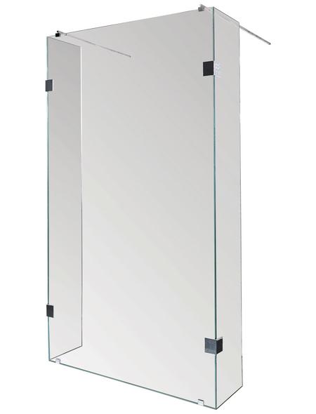 SANOTECHNIK Duschtrennwand »Wide«, B x H: 98 x 195 cm, Sicherheitsglas