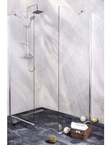 SANOTECHNIK Duschtrennwand »Young«, B x H: 115 x 195 cm, Sicherheitsglas
