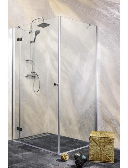 SANOTECHNIK Duschtrennwand »Young«, B x H: 75 x 195 cm, Sicherheitsglas