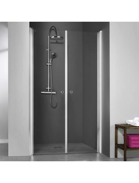 BREUER Duschtür »Elana 6«, Pendeltür, BxH: 90x200 cm