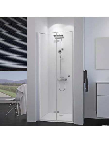 BREUER Duschtür »Elana 8«, Drehfalttür, BxH: 90x200 cm