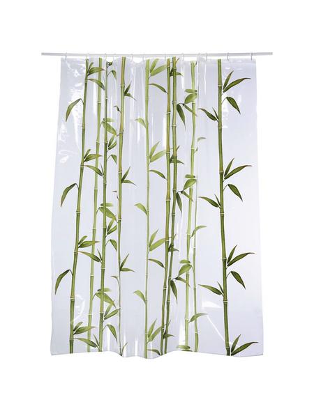 KLEINE WOLKE Duschvorhang »Bambú«, BxH: 180 x 200 cm, Bambus, grün