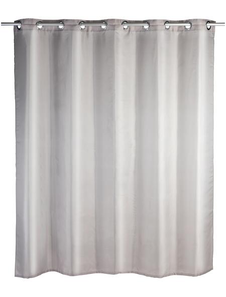 WENKO Duschvorhang »Comfort Flex«, BxH: 180 x 200 cm, Uni, taupe