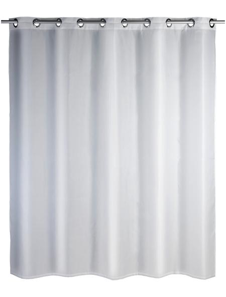 WENKO Duschvorhang »Comfort Flex«, BxH: 180 x 200 cm, Uni, weiß