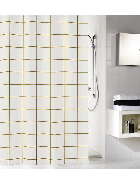 KLEINE WOLKE Duschvorhang »Grid«, B x H: 180 x 200 cm