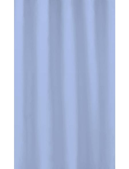 KLEINE WOLKE Duschvorhang »Kito«, BxH: 180 x 200 cm, Uni, blau