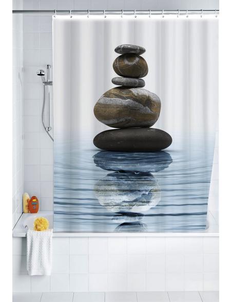 WENKO Duschvorhang »Meditation«