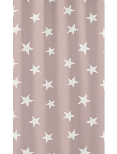 KLEINE WOLKE Duschvorhang »Nova«, B x H: 180 x 200 cm, Sterne