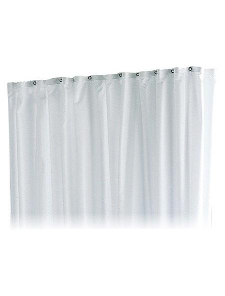 KEUCO Duschvorhang »Plan«, BxH: 140 x 180 cm, Uni, weiß
