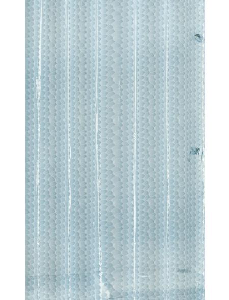 KLEINE WOLKE Duschvorhang »Soapy«, BxH: 180 x 200 cm, Wasserblasen, blau