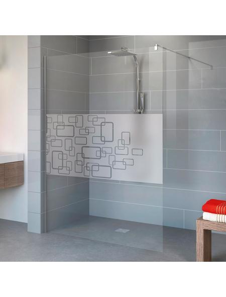 SCHULTE Duschwand »Alexa Style 2.0«, B x H: 190 x 100 cm, Sicherheitsglas