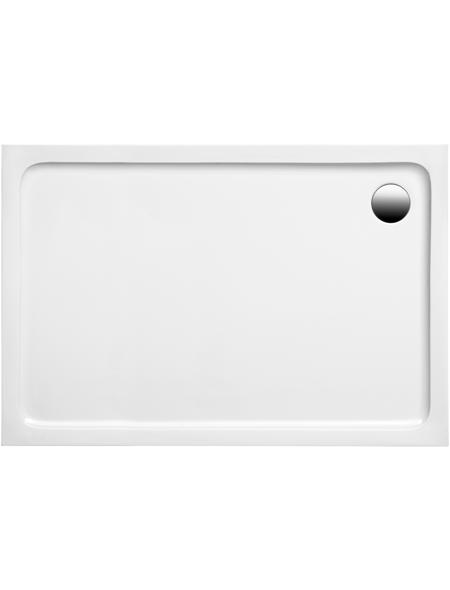 OTTOFOND Duschwanne »Aruba«, BxT: 120 x 80 cm, weiß