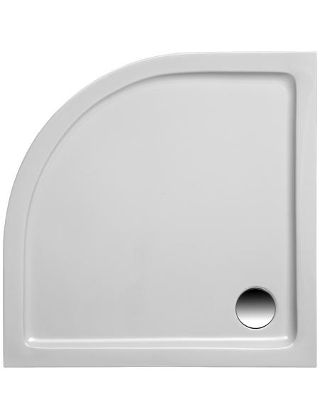 OTTOFOND Duschwanne »Denia«, BxT: 80 x 80 cm, weiß