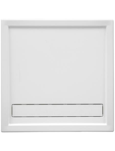 OTTOFOND Duschwanne »Fashion-Board«, BxT: 90 cm x 90 cm