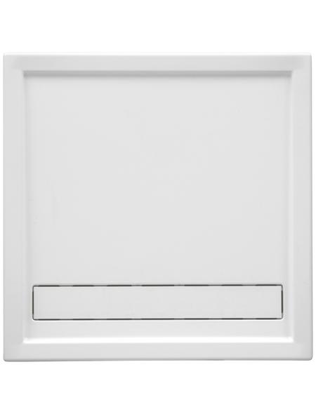 OTTOFOND Duschwanne »Fashion-Board«, BxT: 90 x 90 cm, weiß
