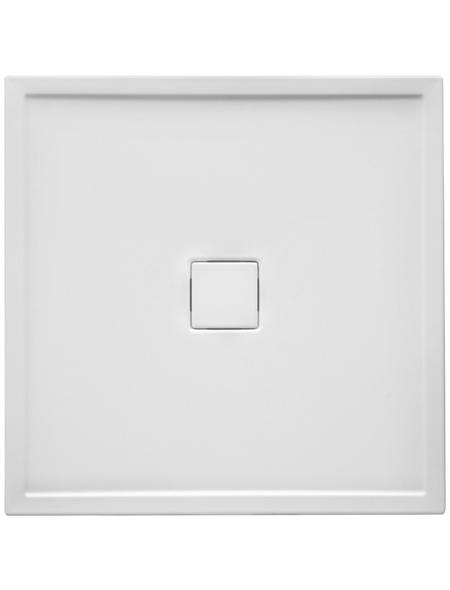 OTTOFOND Duschwanne »Fashion-R«, BxT: 120 x 80 cm, weiß