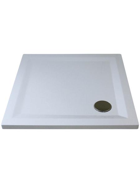 BREUER Duschwanne »Flat Line Design«, BxT: 80 cm x 80 cm