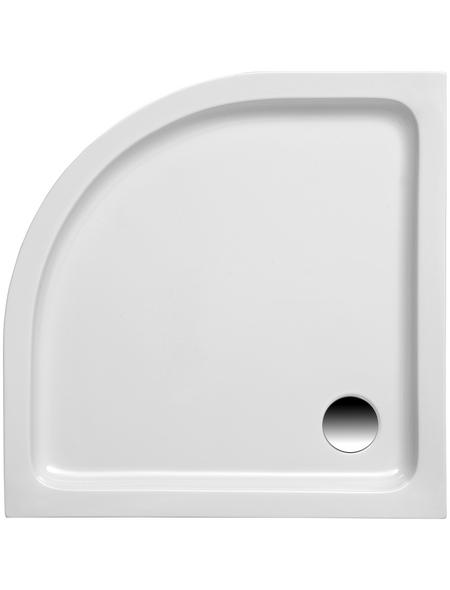 OTTOFOND Duschwanne »Kraton«, BxT: 100 x 100 cm, weiß