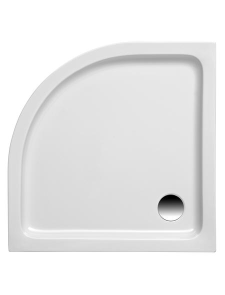 OTTOFOND Duschwanne »Kraton«, BxT: 80 x 80 cm, weiß