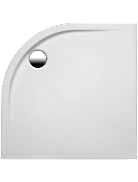 OTTOFOND Duschwanne »Maui«, BxT: 100 x 100 cm, weiß