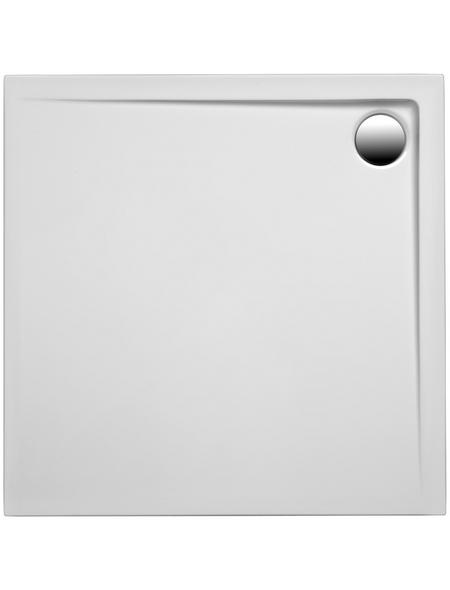OTTOFOND Duschwanne »Maui Q«, BxT: 80 x 80 cm, weiß