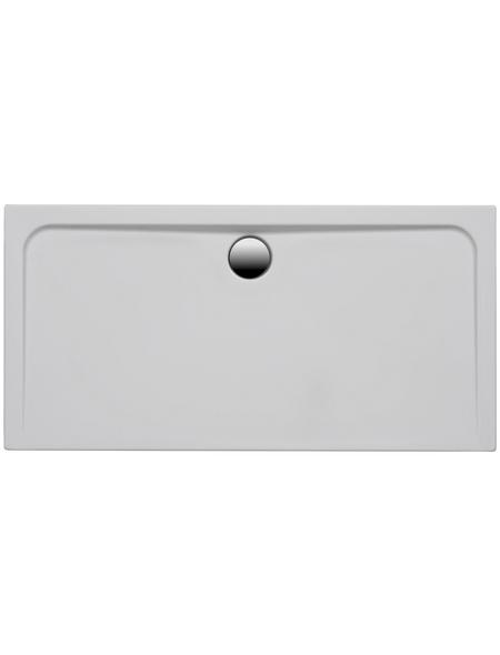 OTTOFOND Duschwanne »Maui R«, BxT: 120 x 80 cm, weiß