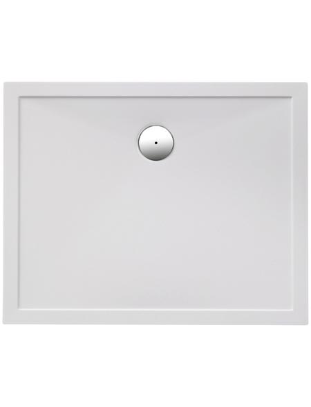 OTTOFOND Duschwanne »Memphis«, BxT: 80 x 100 cm, weiß
