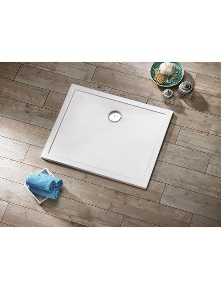OTTOFOND Duschwanne »Memphis«, BxT: 80 x 120 cm, weiß