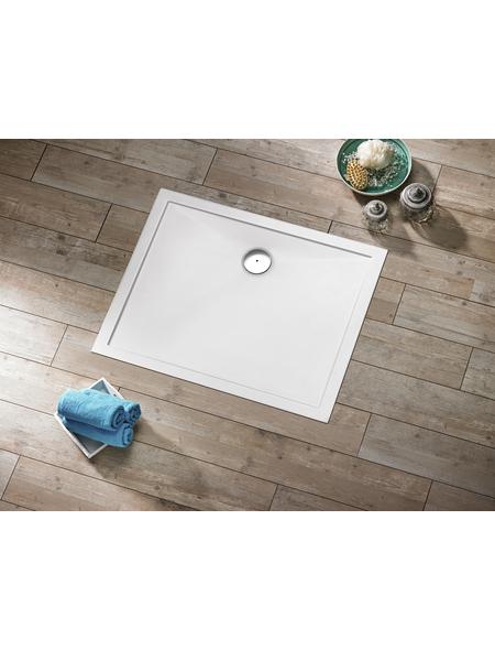 OTTOFOND Duschwanne »Memphis«, BxT: 90 x 120 cm, weiß