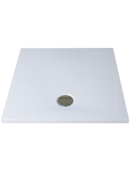 BREUER Duschwanne »Modern Line«, BxT: 90 x 90 cm, weiß