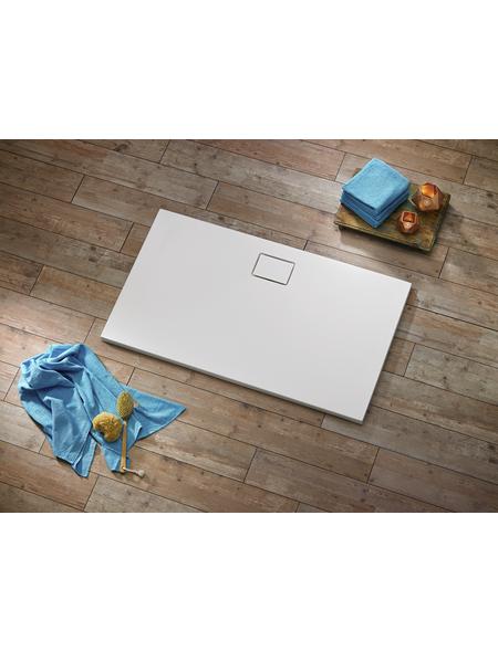 OTTOFOND Duschwanne »Pearl«, BxT: 80 x 140 cm, weiß
