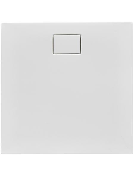OTTOFOND Duschwanne »Pearl«, BxT: 80 x 80 cm, weiß
