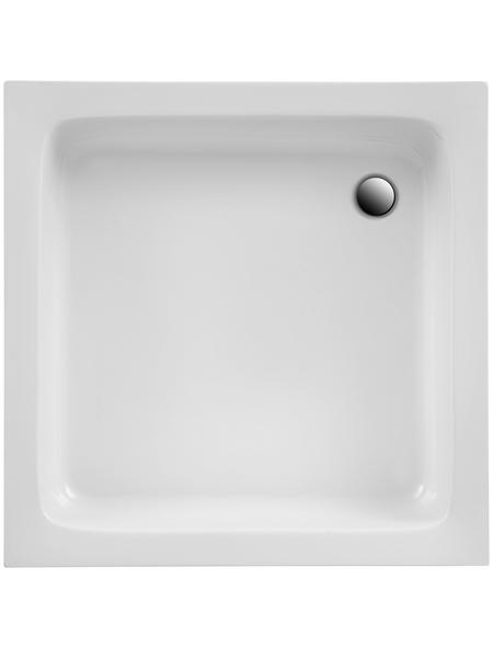 OTTOFOND Duschwanne »Saba«, BxT: 80 x 80 cm, weiß