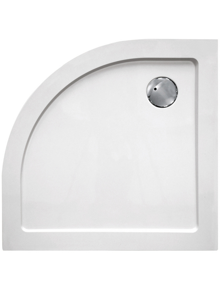 SANOTECHNIK Duschwanne »SMC«, BxT: 100 x 100 cm, weiß