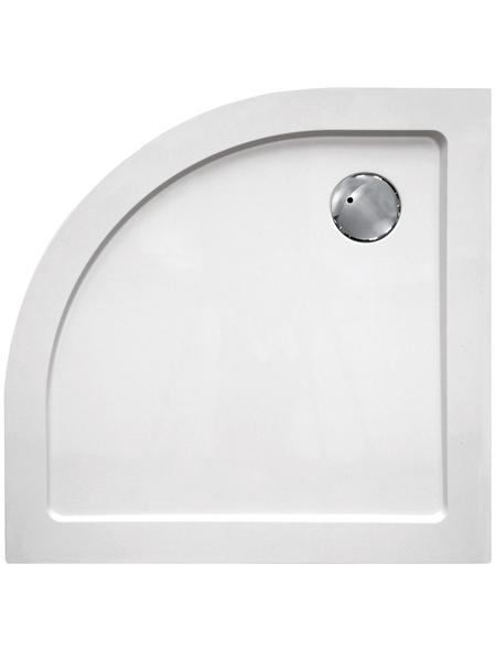 SANOTECHNIK Duschwanne »SMC«, BxT: 80 x 80 cm, weiß