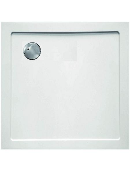 SANOTECHNIK Duschwanne »SMC«, BxT: 90 x 90 cm, weiß