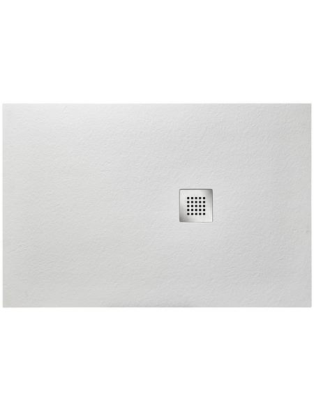 OTTOFOND Duschwanne »Strato«, BxT: 80 x 120 cm, weiß