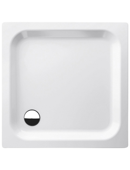 BETTE Duschwanne »Supra«, BxT: 90 x 90 cm, weiß