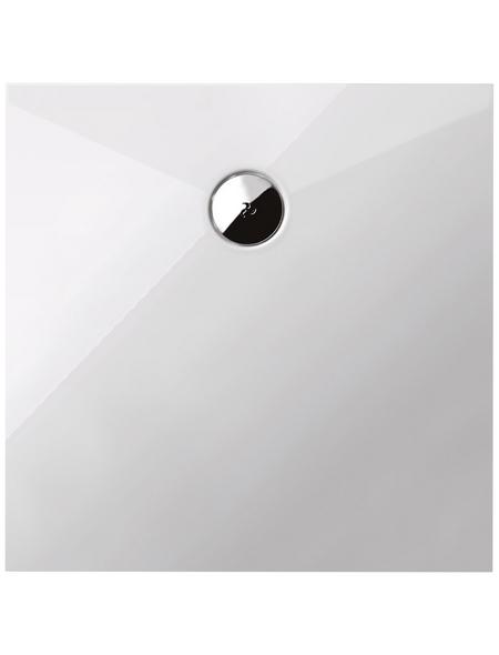 SCHULTE Duschwanne weiß 155cm x 106cm